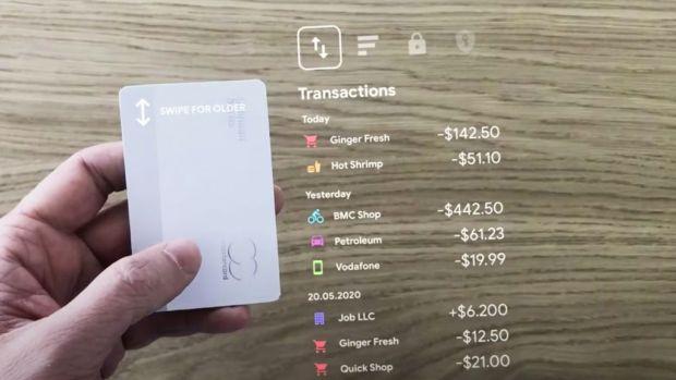 Conceptul extraordinar pentru viitorul Apple Card. Cum ți-ai putea gestiona banii prin realitate augmentată