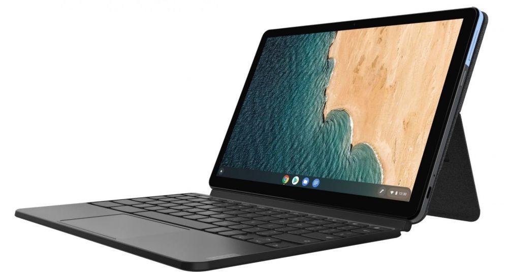 Lenovo a lansat Chromebook Duet, o tabletă cu tastatură la preț accesibil