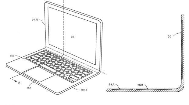 Design inedit pentru noile modele de MacBook! Apple vrea să producă laptopuri cu ecran flexibil