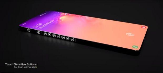 Samsung Galaxy S30 Laser arată fabulos și ar putea schimba pentru totdeauna design-ul telefoanelor mobile