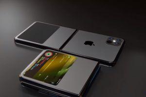 Conceptul fantastic al primului telefon pliabil din istorie de la Apple, iPhone Flip
