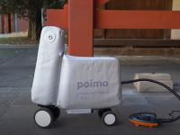 Scuterul gonflabil care încape într-un rucsac și te scapă de aglomerația din trafic. VIDEO