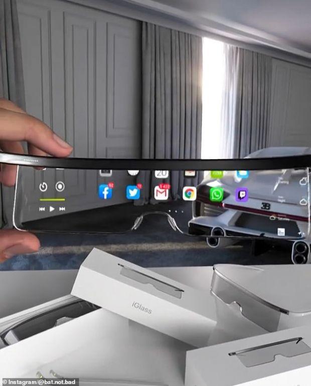 Apple Glasses proiectează informațiile de pe ecranul iPhone pe lentilele ochelarilor