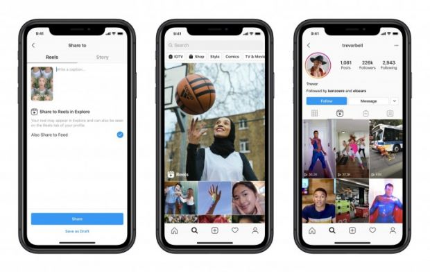 Instagram lansează oficial Reels, rivalul TikTok