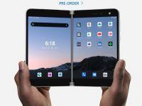 Microsoft a lansat primul său smartphone pliabil, Surface Duo. Prețul este uriaș