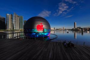 Apple deschide primul său magazin plutitor. FOTO
