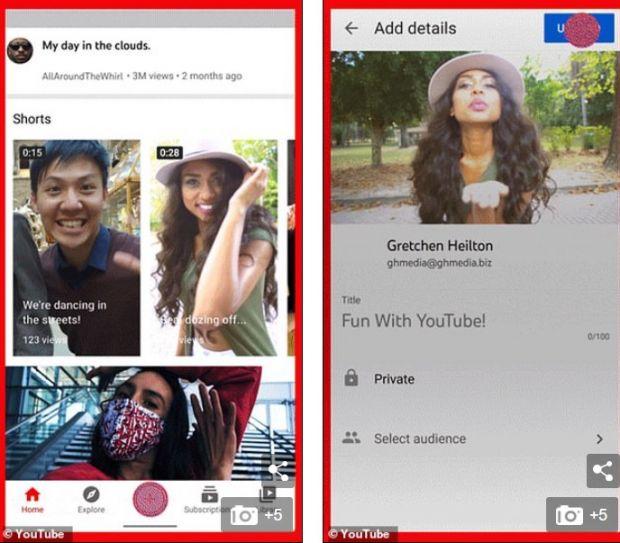YouTube lansează o funcție care imită perfect aplicația TikTok