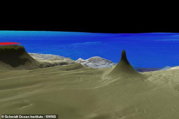 Formațiune uriașă descoperită pe fundul oceanului! Este mai înaltă ca un zgârie-nori