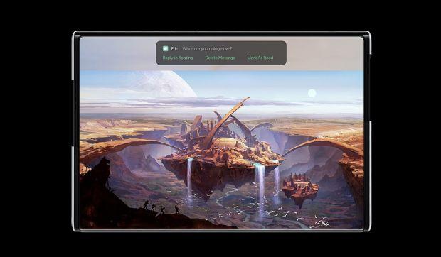 Oppo a prezentat conceptul unui smartphone cu ecran care se extinde