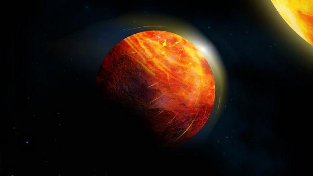 Planeta pe care plouă cu pietre, iar vântul bate cu o viteză mai mare decât cea a sunetului