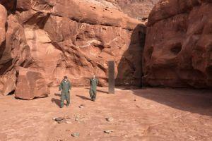 Un obiect misterios a fost descoperit în mijlocul deșertului. Ar putea fi de origine extraterestră?