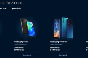 (P) Motorola își lansează propriul magazin online în România