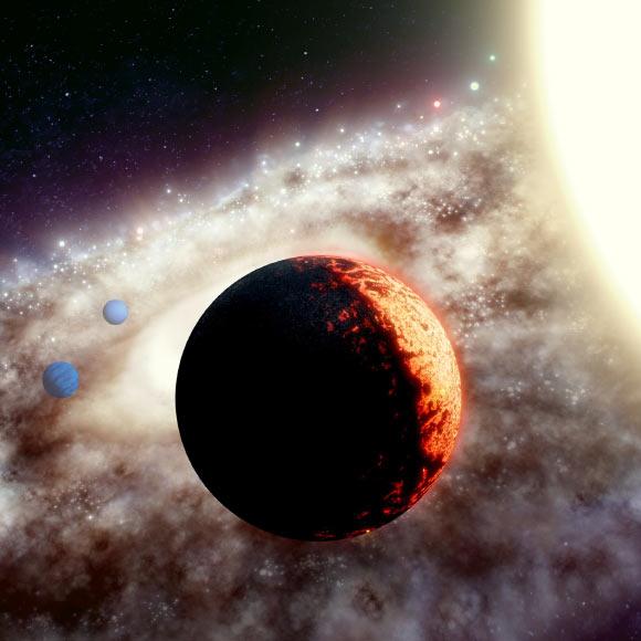 Astronomii au descoperit una dintre cele mai vechi planete din galaxie. Este un bdquo;Super Pământ