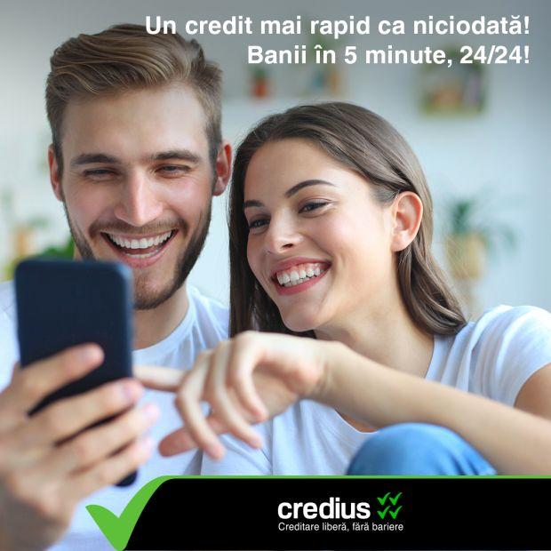 (P) Inovație în creditare. Credius lansează prima tehnologie de creditare care utilizează inteligența artificială