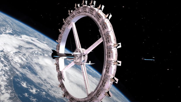VIDEO. Cum va arăta primul hotel construit în spațiu. Ar putea fi gata foarte curând