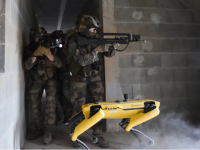Roboți folosiți în războaie? Celebrul Spot, testat în scenarii de luptă de armata franceză