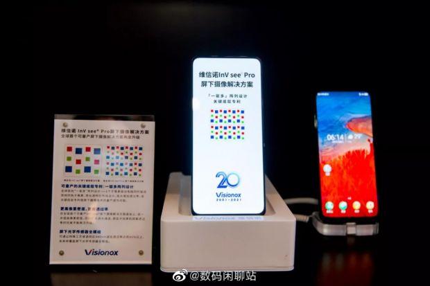 Visionox a prezentat viitorul camerelor ascunse sub display