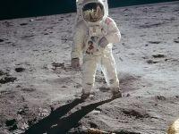 Ce a văzut de fapt Buzz Aldrin când a fost pe Lună? Fotografia care arată adevărul