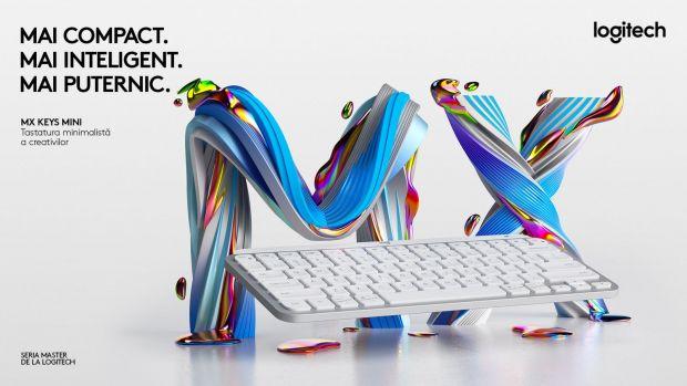 Logitech a lansat MX Keys Mini, noua tastatură wireless cu design minimalist