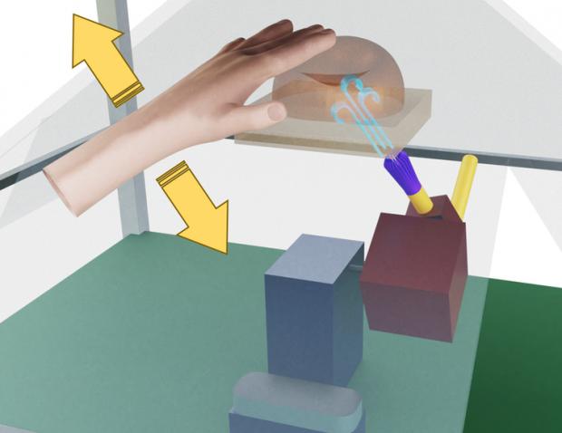 Hologramele care pot fi atinse, un nou pas spre interacțiunea virtuală
